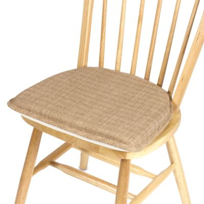 klear vu essentials bahama gripper chair pad in wheat
