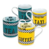 Konitz Tea and Coffee Time Mugs (Set of 4)