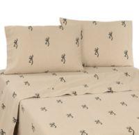 Browning Buckmark Full Sheet Set in Tan