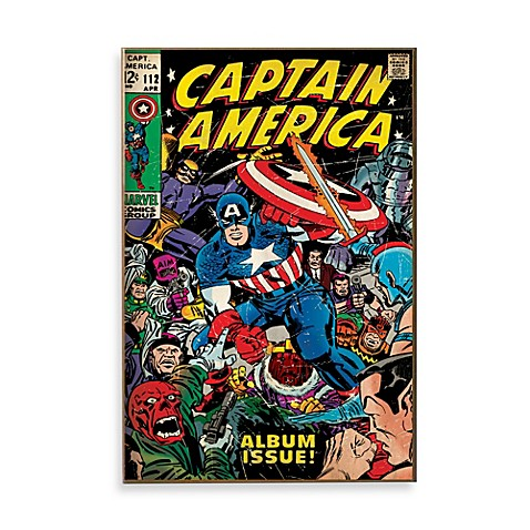 Captain america wall art bed bath beyond Captain america wall decor