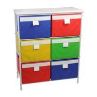 Household Essentials® 3-Shelf White Storage Stand