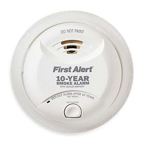 First Alert 174 Lithium Battery 10 Year Sealed Smoke Alarm