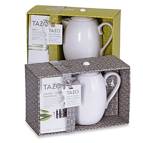 Tazo 174 Tea And Teapot Gift Sets Bed Bath Amp Beyond