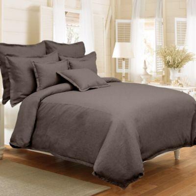 Veratex Gotham Duvet Cover Set In Java Bed Bath Amp Beyond