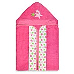 Just Born® Sea Brights Starfish Bath Wrap in Pink
