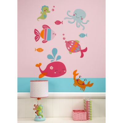 Carteru0027s® Under The Sea Crib Bedding Collection U003e Carteru0027s® Under The Sea  Wall Decals