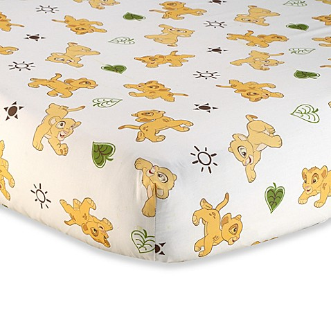 Disney Baby 174 Lion King Go Wild Fitted Crib Sheet Buybuy Baby