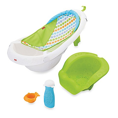 fisher price 4 in 1 sling 39 n seat bath tub bed bath beyond. Black Bedroom Furniture Sets. Home Design Ideas