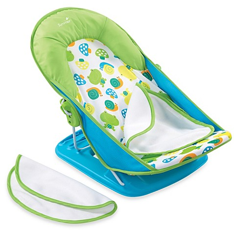 Summer Infant® Bath Tub Sling with Warming Wings in Blue - buybuy BABY