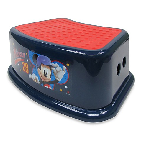 Ginsey disney mickey mouse step stool bed bath beyond - Mickey mouse stool ...