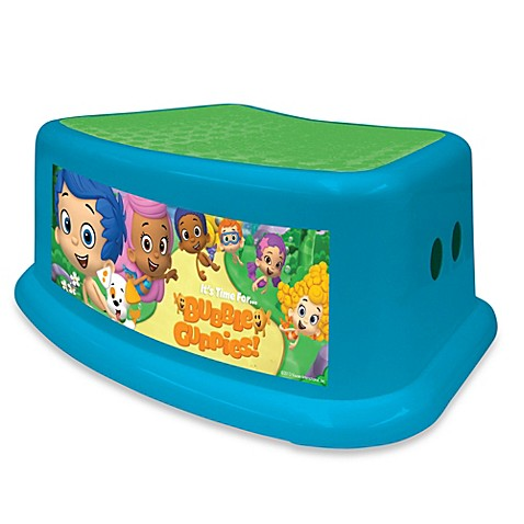 Nickelodeon Bubble Guppies Step Stool Bed Bath Beyond