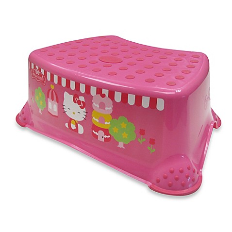 Hello Kitty 174 Deluxe Step Stool Bed Bath Amp Beyond