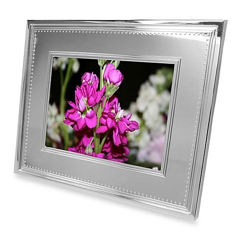 vera wang wedgwood grosgrain 8 inch digital photo frame bed bath beyond