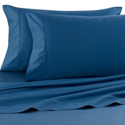 Wamsutta® 400 Thread Count Olympic Queen Sheet Set In Royal Blue