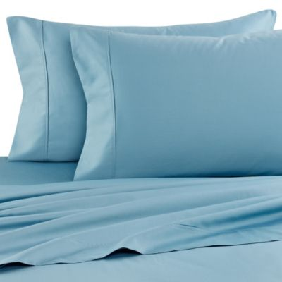 Buy Microtouch Queen Sateen Sheet Set In Teal From Bed