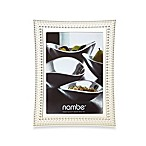 Nambe Beaded 5-Inch x 7-Inch Frame