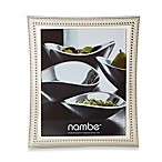 Nambe Beaded 8-Inch x 10-Inch Frame