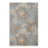 Nourison Fantasy 1-Foot 9-Inch x 2-Foot 9-Inch Area Rug in Light Blue