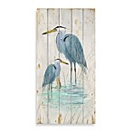 Blue Heron 2 Wood Wall Plaque
