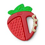 Chicco® NaturalFit™ Fruity Tooty Strawberry Silicone Teether