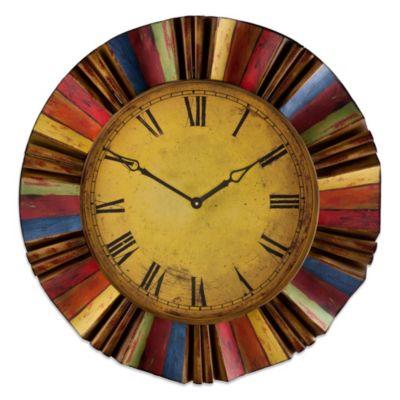 Superb Southern Enterprises Carnival Wall Clock