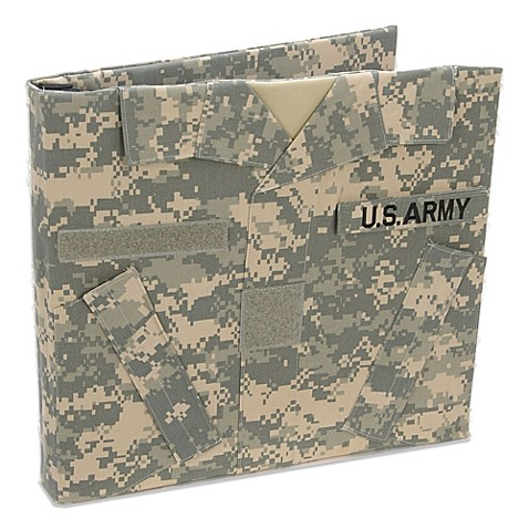 U S Army Keepsake Album Bed Bath Amp Beyond