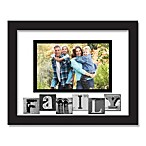 Family Sentiment Picture Frame in Black