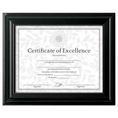 8.5-Inch x 11-Inch Document Wiid Frame in High Gloss Black