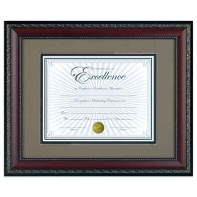 8.5-Inch x 11-Inch Deluxe Document Frame in World Class Walnut