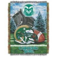 Colorado State University Tapestry Throw Blanket
