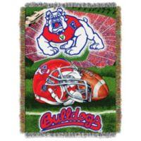 Fresno State University Tapestry Throw Blanket