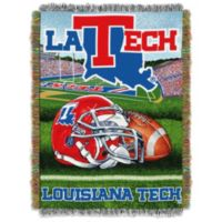 Louisiana Tech University Tapestry Throw Blanket