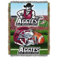 New Mexico State University Tapestry Throw Blanket