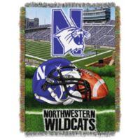 Northwestern University Tapestry Throw Blanket