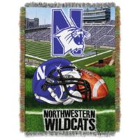 Northwestern University Tapestry Throw Blanket