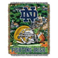 Notre Dame University Tapestry Throw Blanket