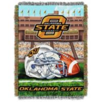Oklahoma State University Tapestry Throw Blanket