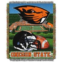 Oregon State University Tapestry Throw Blanket