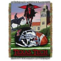Texas Tech University Tapestry Throw Blanket