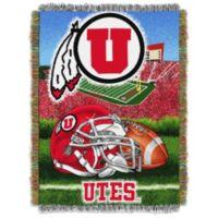 University of Utah Tapestry Throw Blanket