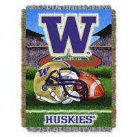 University of Washington 48-Inch x 60-Inch Tapestry Throw Blanket