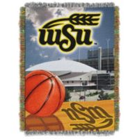 Wichita State University Tapestry Throw Blanket
