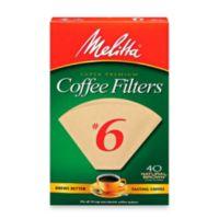 Melitta® 40-Count Number 6 Super Premium Coffee Filters
