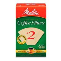 Melitta® 100-Count Number 2 Super Premium Coffee Filters