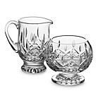 Waterford® Lismore Crystal Footed Sugar and Creamer