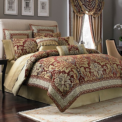 Croscill fresco comforter set bed bath beyond - Bed bath and beyond bedroom furniture ...