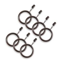 Cambria® Elite Complete Clip Rings in Oil Rubbed Bronze (Set of 7)