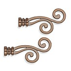 Cambria® Classic Complete® Lariat Finial in Oil Rubbed Bronze (Set of 2)