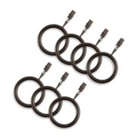 Cambria® Elite Complete Clip Rings in Matte Brown (Set of 7)