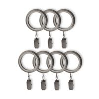 Cambria® Connections Clip Rings in Graphite (Set of 7)